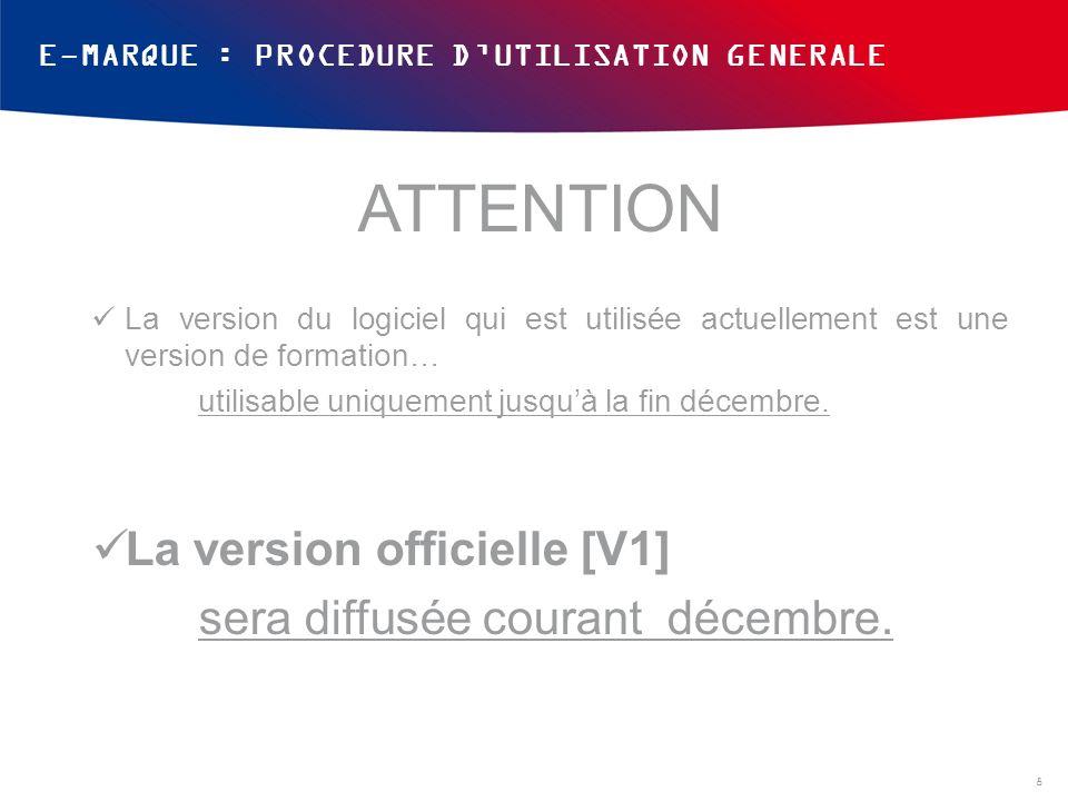 ATTENTION La version officielle [V1] sera diffusée courant décembre.